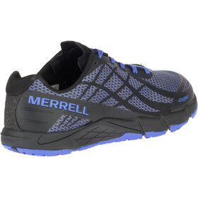 Merrell Bare Access Flex Shield Löparskor Dam blå/svart